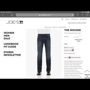Men's Joe's Jeans - The Rocker size 32/32